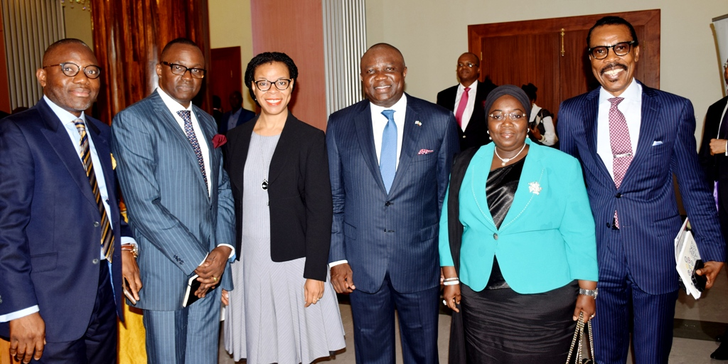 Akinwunmi Ambode meets Leaders of the Private Sector in Lagos Business School