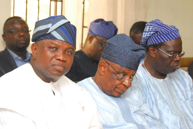 Ambode Meets With APC Lagos Youth Leaders