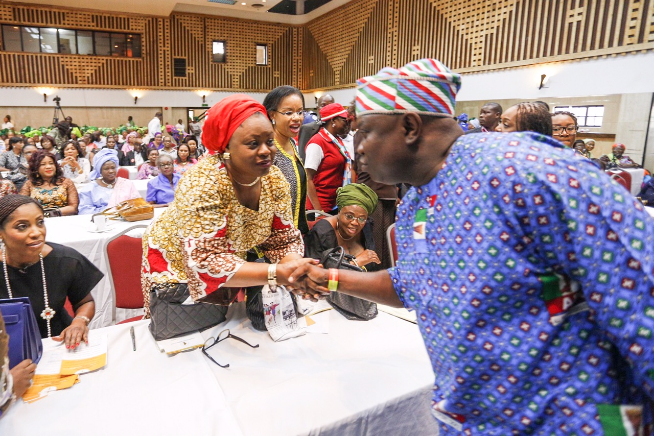 """Ambode in an Interactive Session with Lagos Women; Says, """"You Can Count On Me"""""""