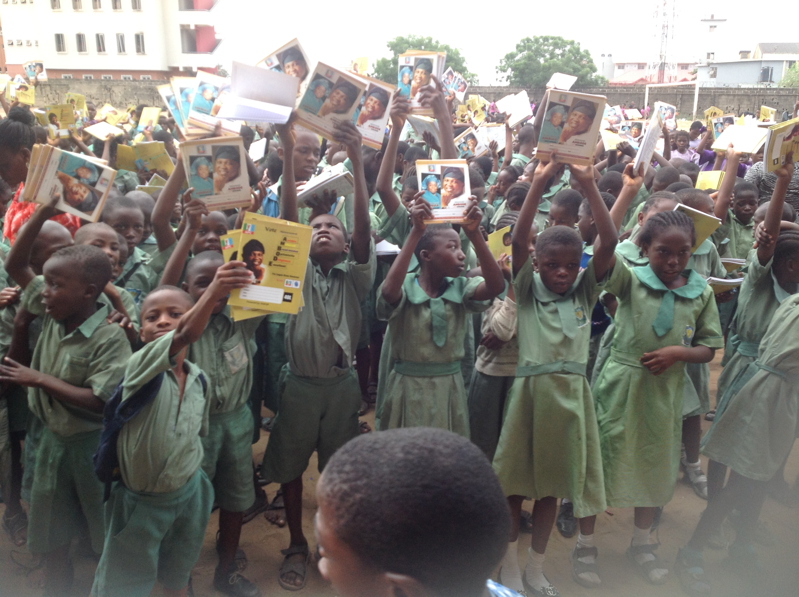 Ambode's Books Donation to Lagos Pupils Continues…
