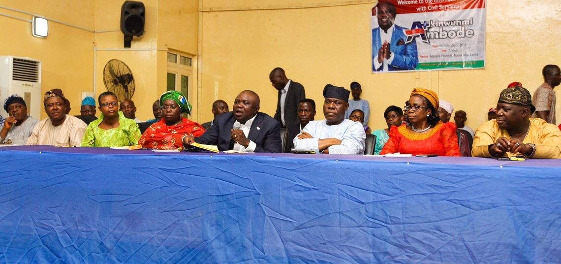 I am Well-Positioned to Cater for Civil Servants' Interests – Ambode