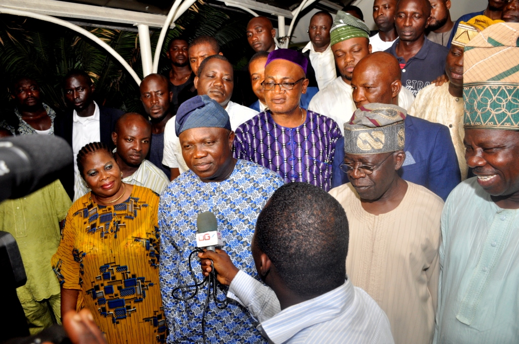 Ambode Joins APC Leaders to Restate Commitment to the People