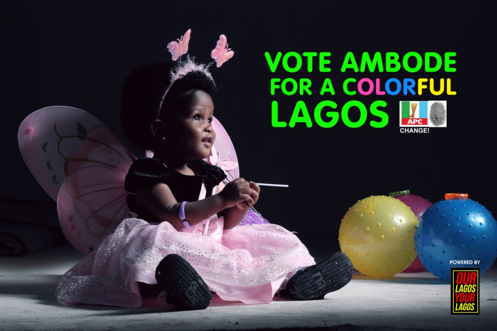 Vote Ambode for a Colourful Lagos – Our Lagos, Your Lagos, #Ambo2015