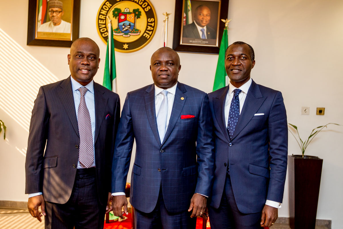 Governor Ambode Receives Access Bank Management