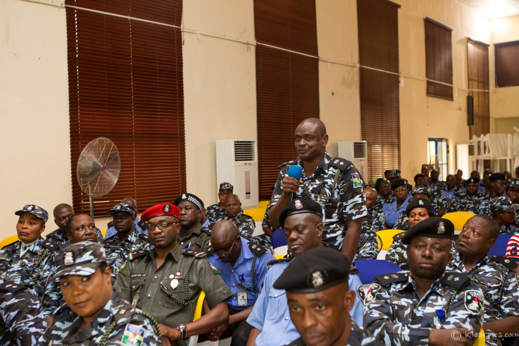 Governor Akinwunmi Ambode Visits Police Command