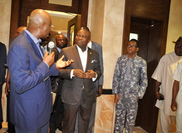 Gov. Ambode at Commissioning of the George, Ikoyi