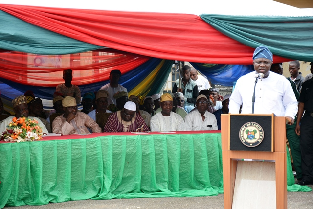 Governor Ambode At the Ramadan Tasfir in Epe