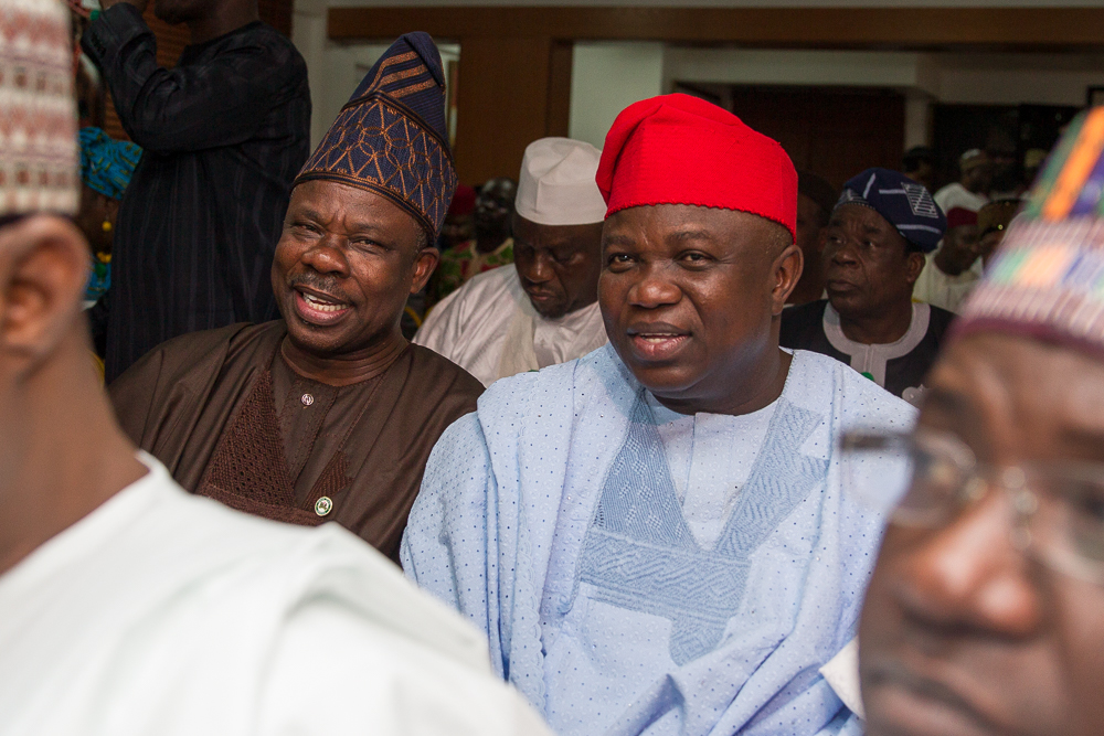 Governor Ambode Attends APC NEC Meeting
