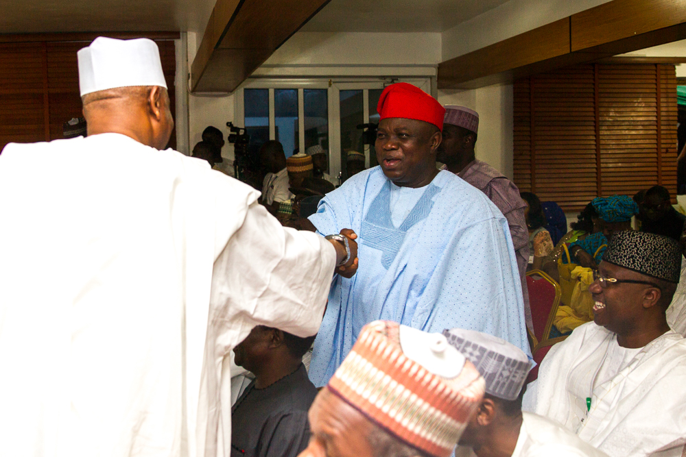Governor Ambode Attends APC NEC Meeting [Photos]