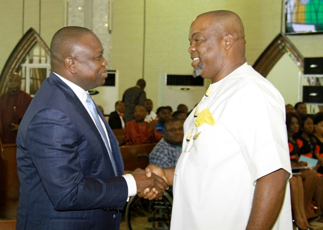 Governor Ambode Joins Other Dignitaries to Celebrate Mr. Ugochukwu A. Okoroafor
