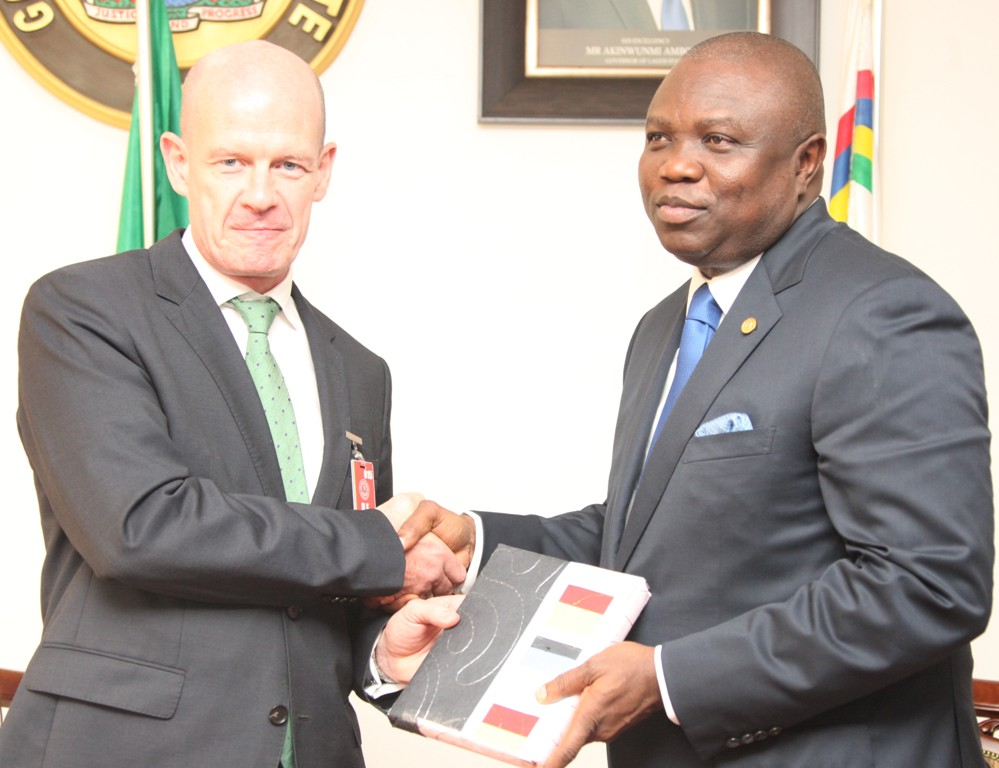 Governor Ambode targets Food Security for Lagosians; Meets Irish Envoy