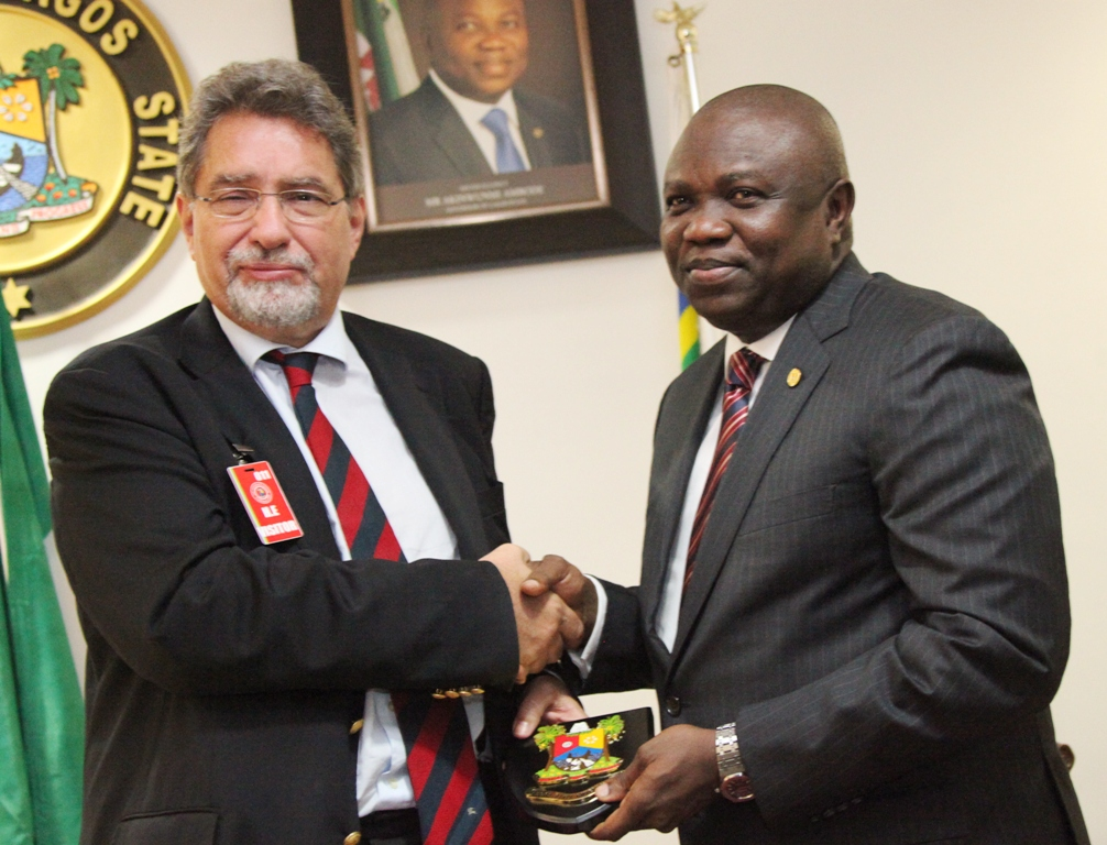 Ambode Has Most Challenging Job In The World – Italian Ambassador
