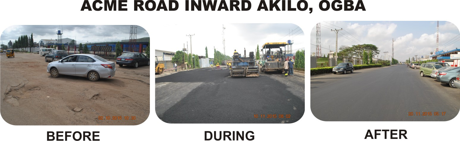 ACME ROAD INWARD AKILO, OGBA