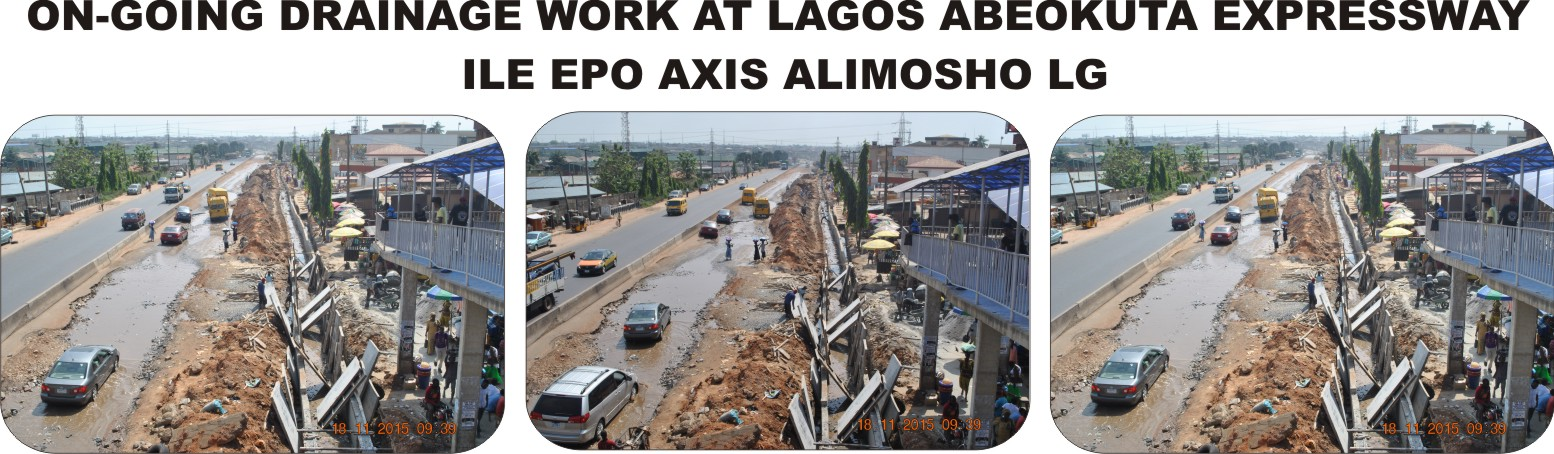 Lagos State Public Works Corporation: Brief Report of Work Schedule Between Monday November 16th – Friday November 20th, 2015