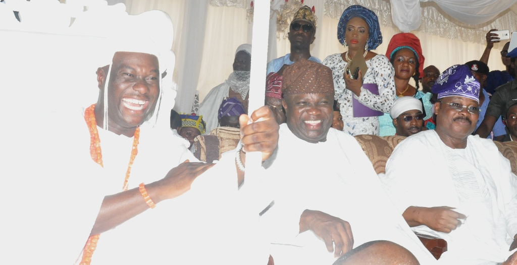 The Coronation of the New Ooni of Ife, at the Ooni's Palace, Ile-Ife, Osun State, on Monday, December 07, 2015