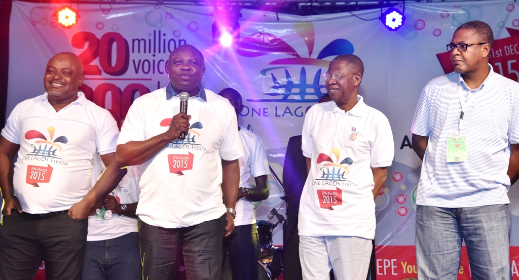 Gov. Ambode Flags Off One Lagos Fiesta At Agege Mini Stadium, Agege, Lagos