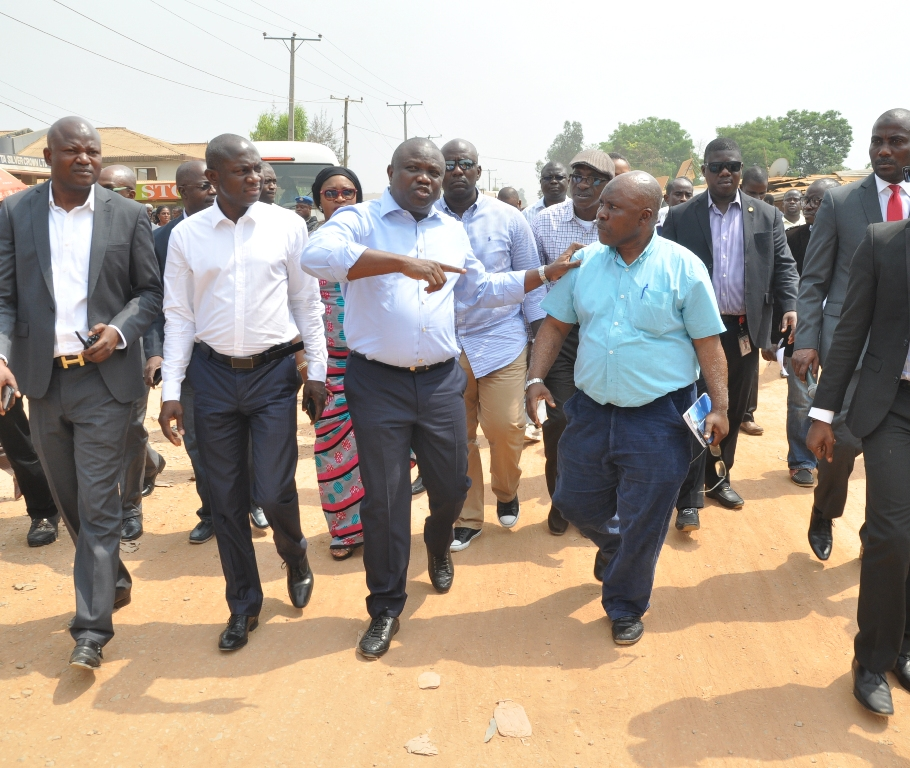 Gov. Akinwunmi Ambode Directs Contractors To Commence Work On Ajasa-Command, Abesan Roads In Two Weeks