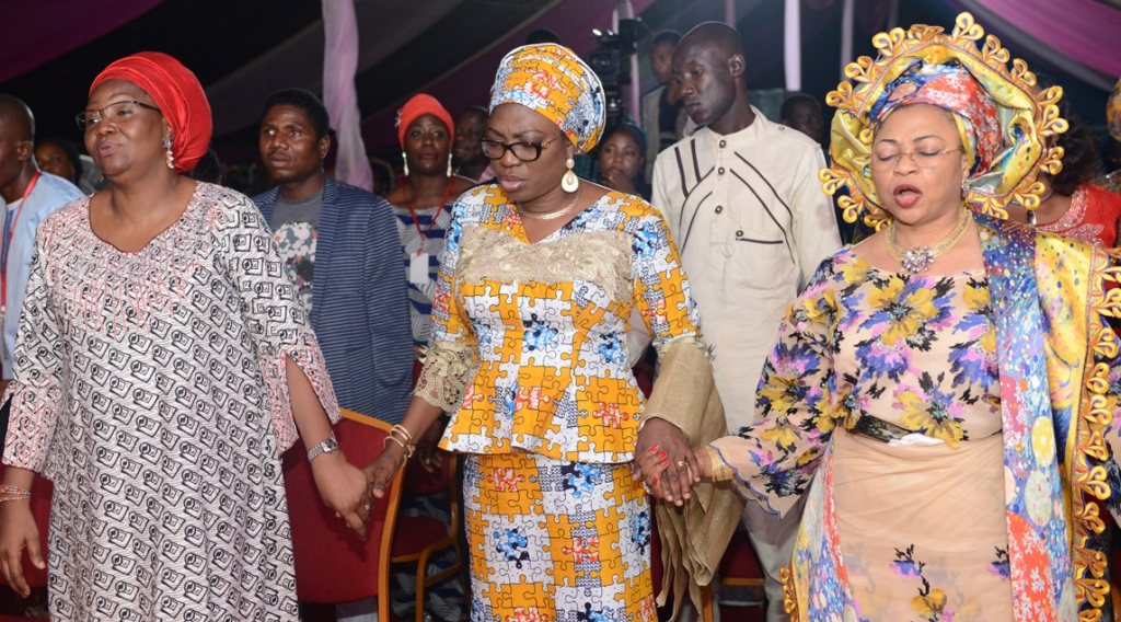Wife Of Lagos State Governor, Mrs. Bolanle Ambode at Winning Edge 2016 Conference At TBS, Lagos