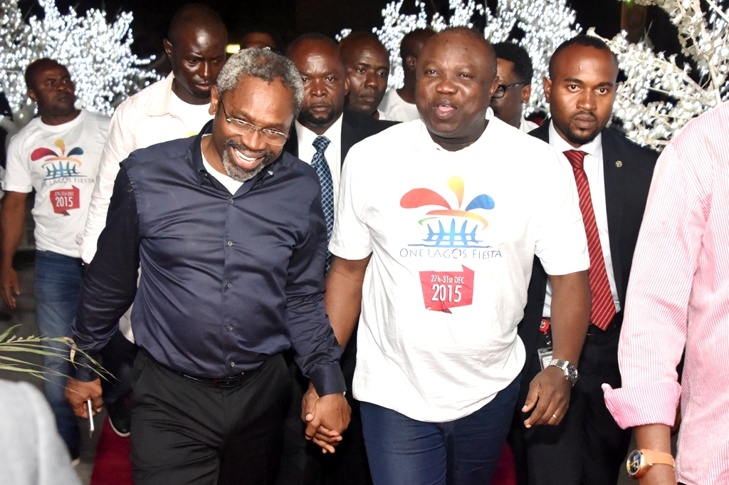 Gov. Ambode at Grand Finale of One Lagos Fiesta at Bar Beach, Victoria Island, Lagos