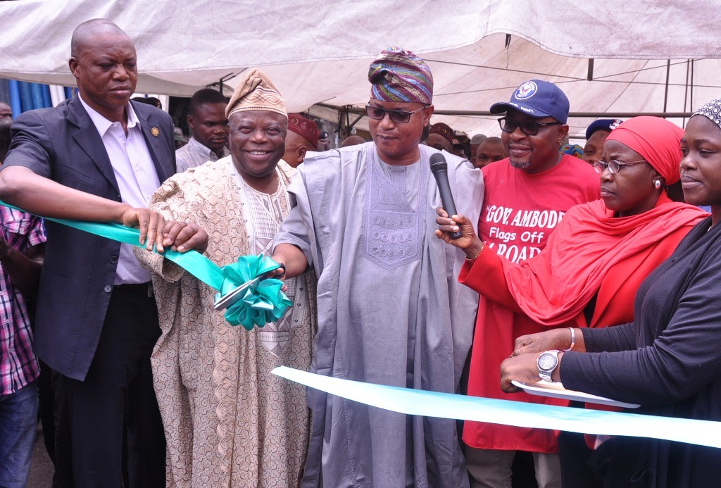 The newly constructed Thomas Street in Lagos Island East LCDA has been commissioned.