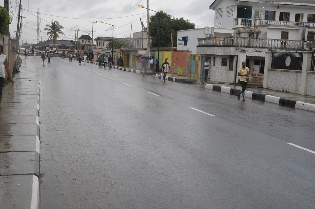 This is Dillion Street, Krikiri in Oriade Local Council Development Area. The new road is 400m long and 12m wide.