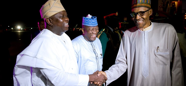 Pictures: Governor Ambode Accompanies President Buhari to the 71st United Nations General Assembly in New York