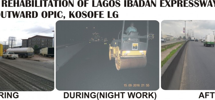 Brief Report On The Activities Of Lagos State Public Works Corporation From Monday September 26th – Friday September 30th, 2016