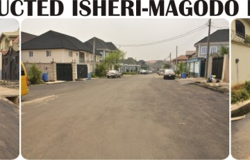 Lagos State Public Works Corporation Constructs Isheri–Magodo Road Networks