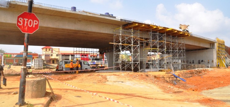 Ongoing Construction Of Abule Egba Fly Over By Lagos State Government