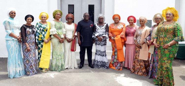 Pictures: Wife Of Lagos State Governor, Mrs. Bolanle Ambode, At Quarterly Meeting Of Southern Governors' Wives Forum In Abia State