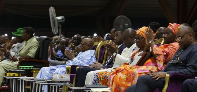 Pictures:Governor Ambode At Holy Ghost Service Tagged, Come And Drink, Redemption Camp