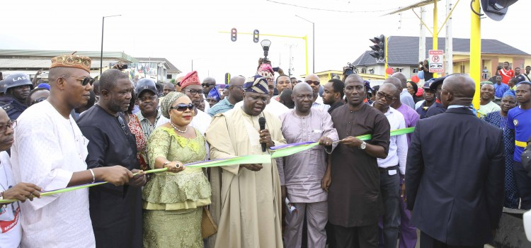 Address Delivered At The Commissioning Of The Rehabilitation/Upgrading Of Omotayo Banwo/Ikola Iyaomolere Street (Agboyi-Phase II), In Kosofe Local Government Area