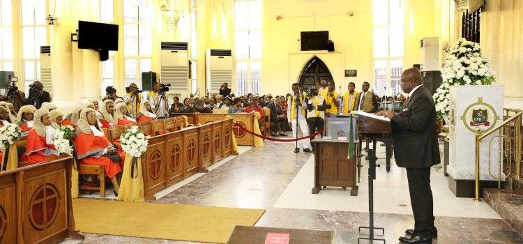 Remarks Delivered At The 2017 Legal Year Ceremony At Cathedral Church Of Christ, Marina, Lagos