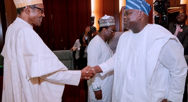Pictures: President Muhammadu Buhari Meets With The 36 State Governors At The Presidential Villa In Abuja.