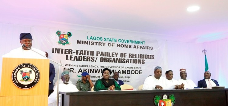 Keynote Remarks Delivered At The Inter-Faith Parley, Held At The State House, Alausa, Ikeja