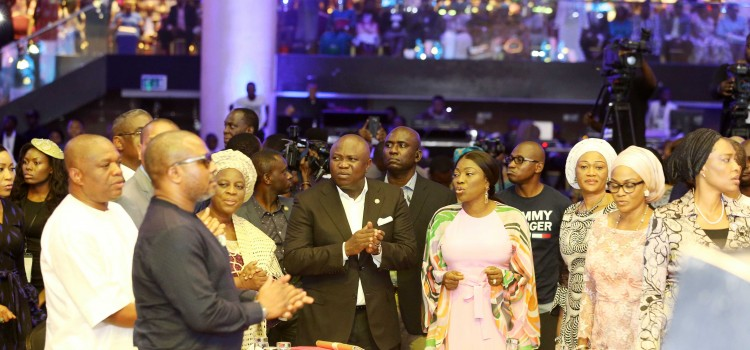 Goodwill Message Delivered At The 30th Anniversary Celebration Of Pastor Kunle Ajayi On Stage