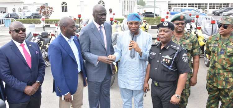 Lagos Donates 30 Power Bikes To Security Agencies