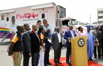 Lagos Donates N365m Mobile Clinic For Cancer Treatment