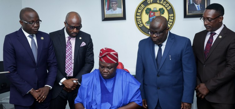 Governor Ambode Signs N1.046tr Y2018 Budget Into Law