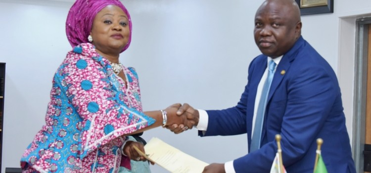 I Demand Nothing But The Best From You, Governor Ambode Tells New Cabinet Members