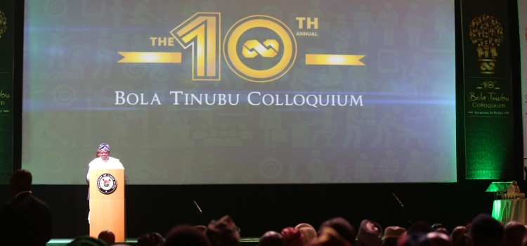 Welcome Address Delivered By Governor Ambode At The 10th Bola Tinubu Colloquium
