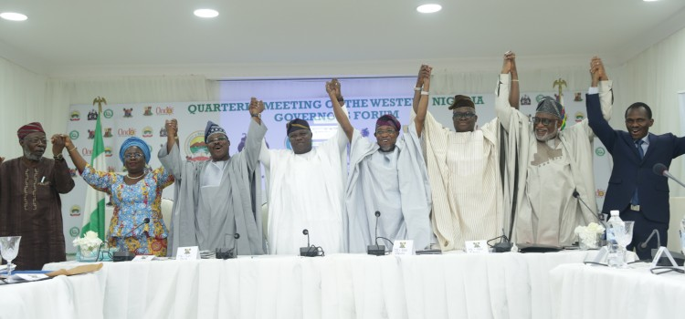 South West Governors Formally Admit Lagos Into O'dua Investment Group