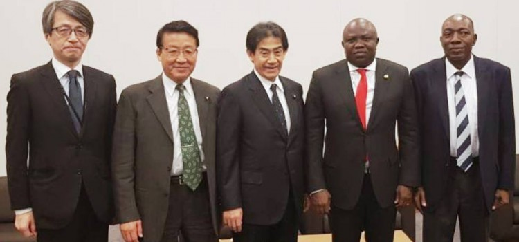 Govenor Ambode Visits Japan, Woos Investors On Transportation, Urban Development
