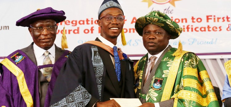Governor Ambode Grants Scholarship, N5million Cash Reward To Best LASU Graduating Student