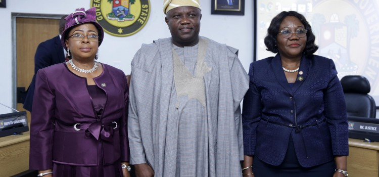 Address Delivered By Governor Ambode At The Swearing In Ceremony Of New Permanent Secretary