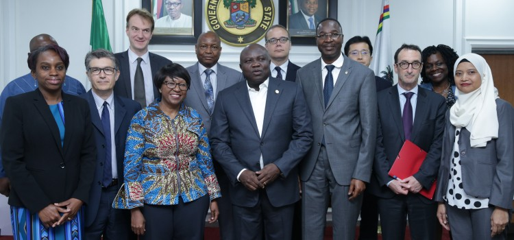 Pictures: World Bank Delegation Visit Lagos House, Ikeja