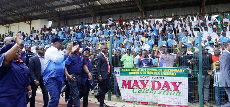 """Keynote Address Delivered By Governor Akinwunmi Ambode On The Occasion Of The 2018 May Day Celebration; """"Celebrating Lagos State Workers As Growth And Development Partners"""""""
