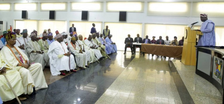 An Address Delivered At The Inauguration Of The  Newly Constituted Lagos State Council Of Obas And Chiefs