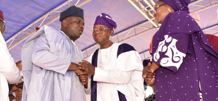 Pictures: Gov Ambode Attends Swearing-In Of Gboyega Oyetola As New Governor Of Osun State In Osogbo