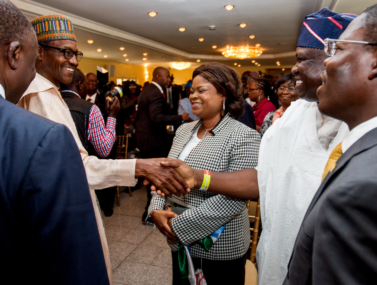 Ambode at General Muhammadu Buhari's Interactive Session with Organized Private Sector